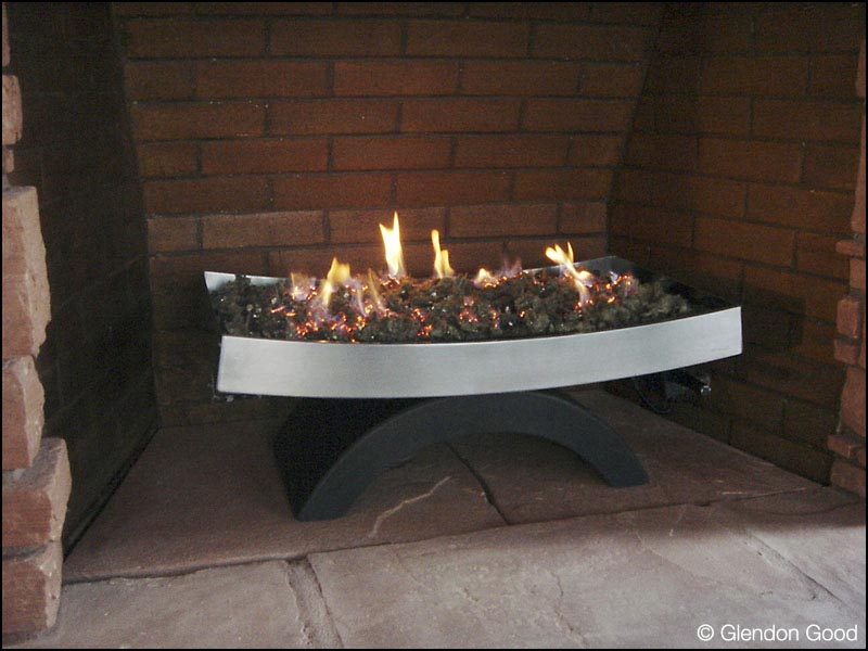 Fireplace insert glendon good for Modern gas insert fireplace