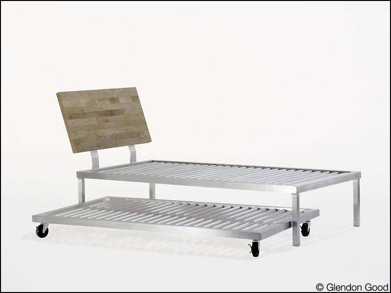 Aluminum Bed Frame | Glendon Good