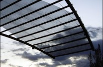 Glass & Aluminum Canopy