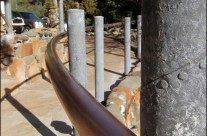 Curving Copper Handrail