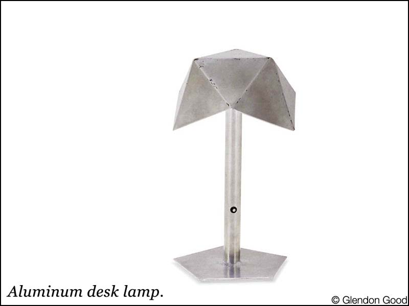 lamp.table.small.aluminum.halogen