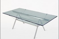 Antioch Glass & Aluminum Tables