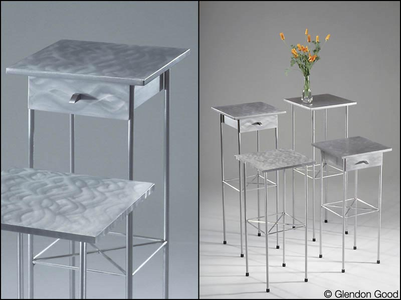 table.sophia.brushed.aluminum