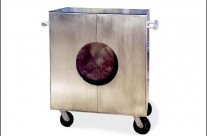 Aluminum Trolly Cabinet