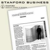 Stanford Business School Magazine