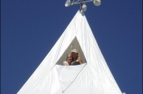 Burning Man Tower/Tent