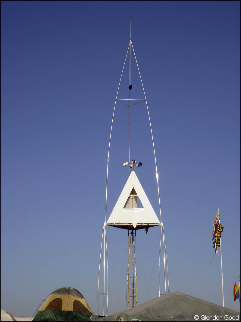 Burning Man Tower/Tent | Glendon Good