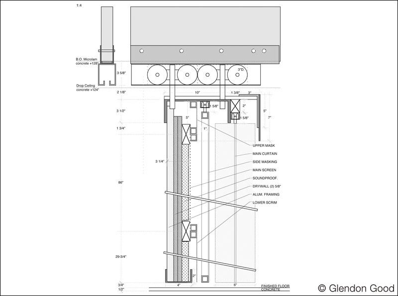 Articulating Cinema Baffle Wall System Glendon Good