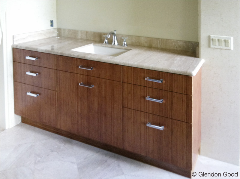 bamboo bathroom cabinets glendon