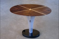 Contemporary Aluminum Table Pedestal