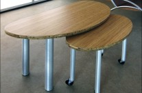 Nesting Bamboo Tables