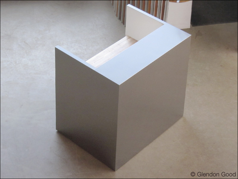 Stainless Steel Reception Desk Glendon Good