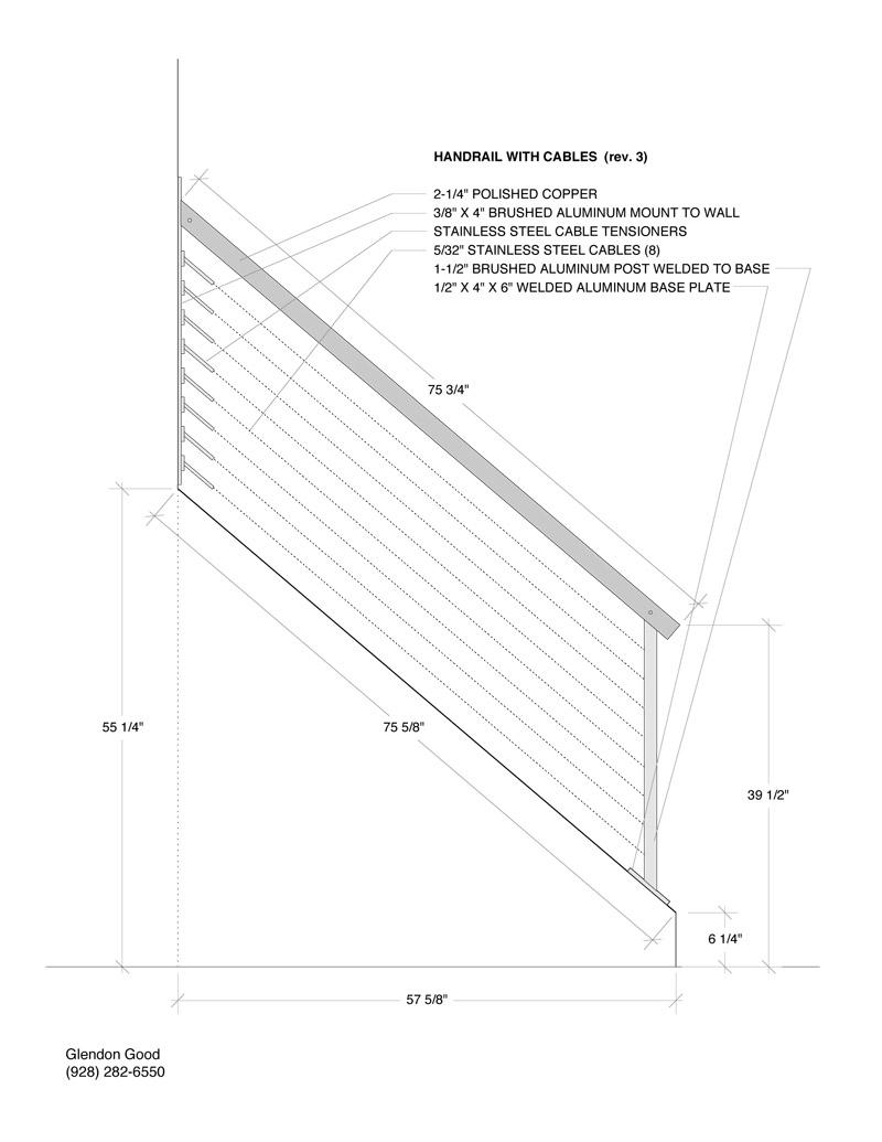 Handrail Drawings