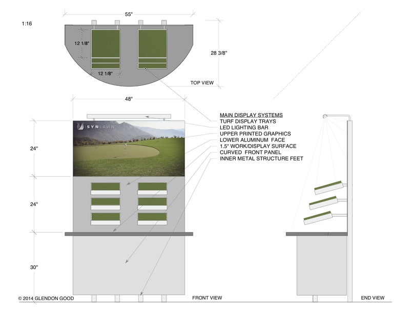 Exhibit Design Schematics