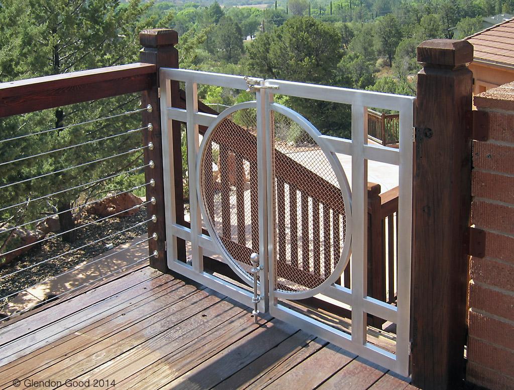 Aluminum & Copper Gate