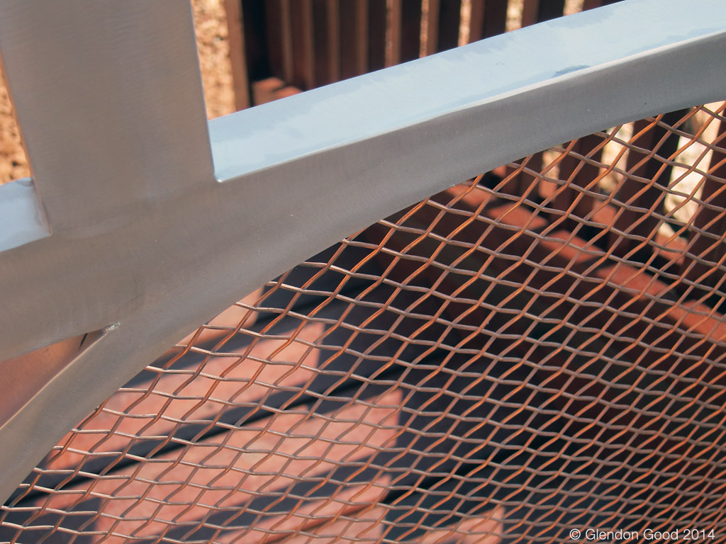 copper mesh and aluminum