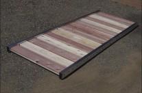 Aluminum & Redwood Footbridge
