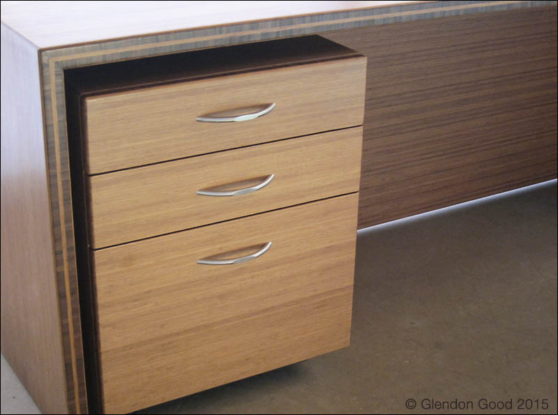 Bamboo Desk Cabinet 3
