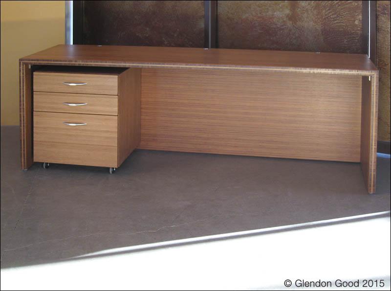 Bamboo Desk Cabinet 4