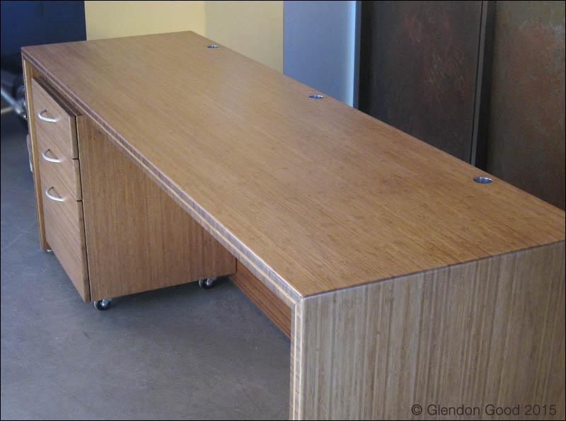 Bamboo Desk Cabinet 5