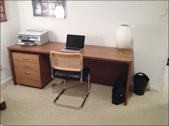 Bamboo Desk Cabinet Loc