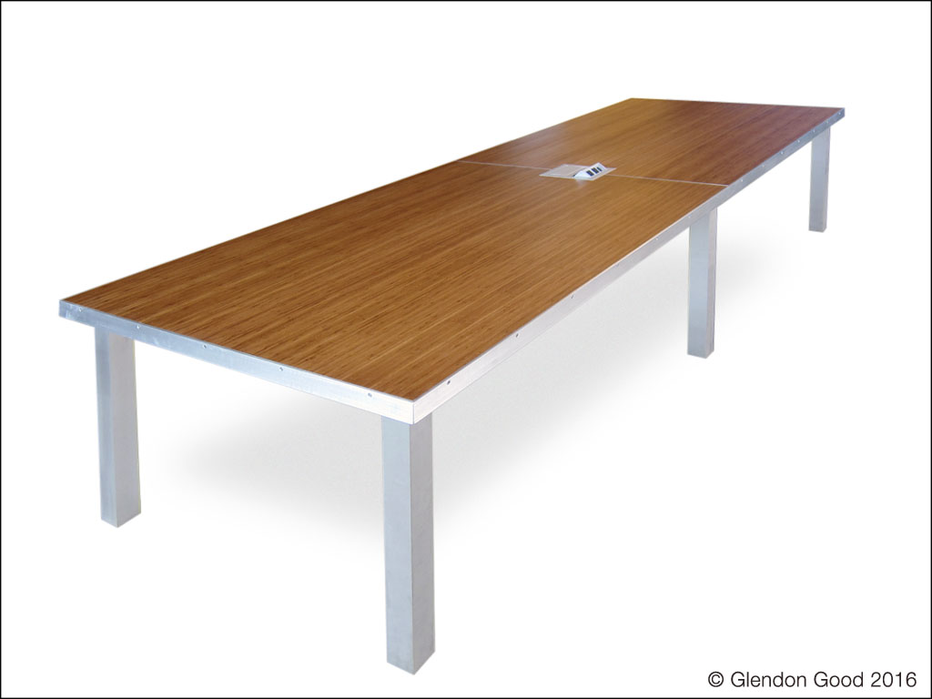 Contemporary conference tables glendon good for Contemporary table