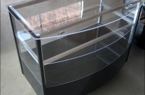Curved Display Cabinets