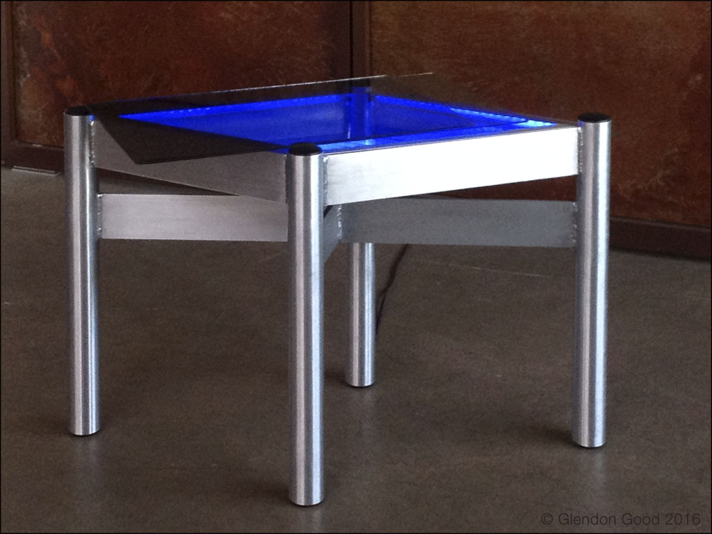 Table.LED Lights.blue