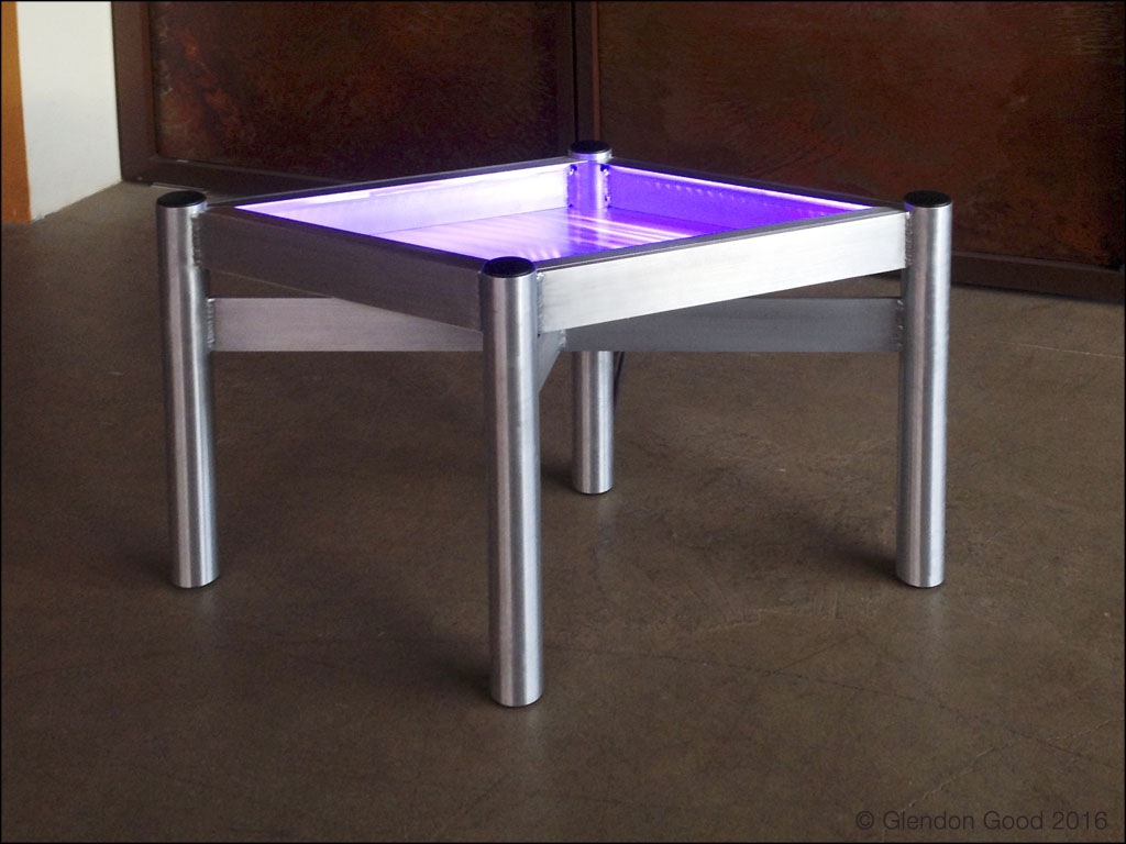 Table.LED Lights.purple